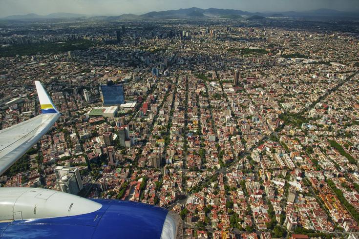 Stadsvliegvelden Mexico-Stad
