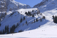 Skigebieden in de buurt van een vliegveld