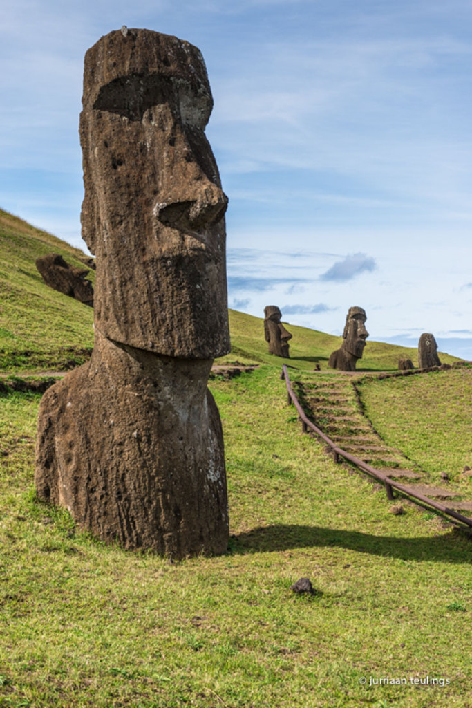 Paaseiland, Moai