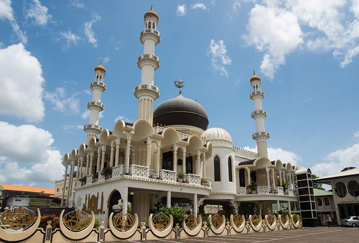 Moskee in Paramaribo, Suriname