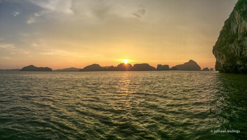 Phang Nga National Park, vlakbij bij Phuket, Thailand