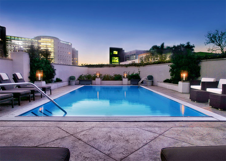 De foto van de hotelwebsite...