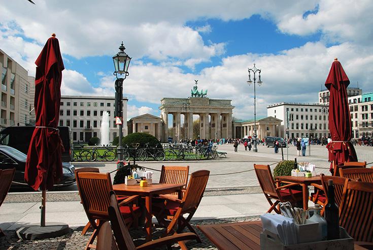 Brandenburger tor plein