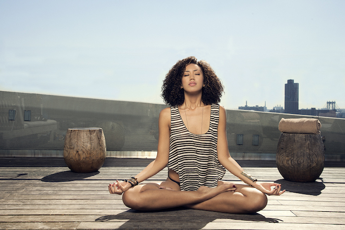 Zen in New York: 'Rooftop Yoga at the James'
