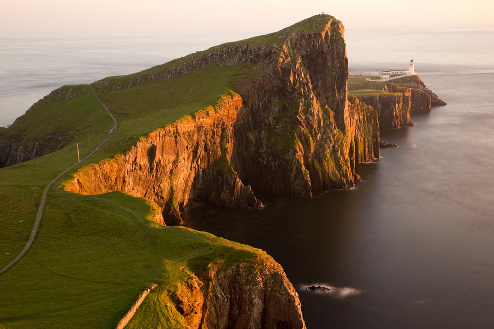 Neist Point op Skye, Schotland
