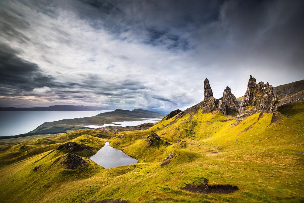 Het Schotse eiland Skye
