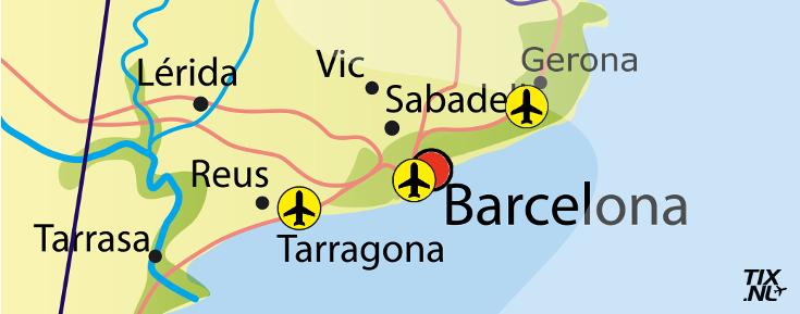 De Luchthavens Van Barcelona Op Welke Vliegveld Kan Ik Vliegen