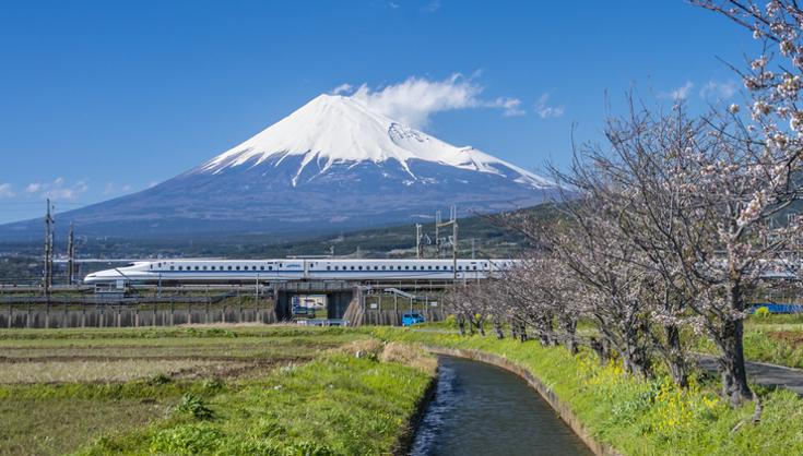 Shinkansen trein Japan