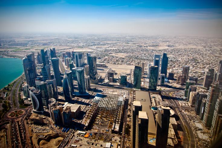 Stadsgezicht Doha