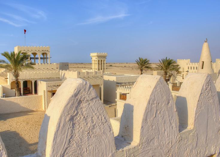 Woestijndorp Qatar