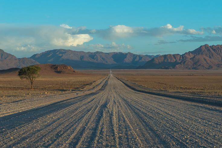 Namibië Grandioze Woestenij
