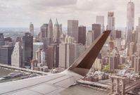 Kilometerknallers in de lucht: Amsterdam-New York