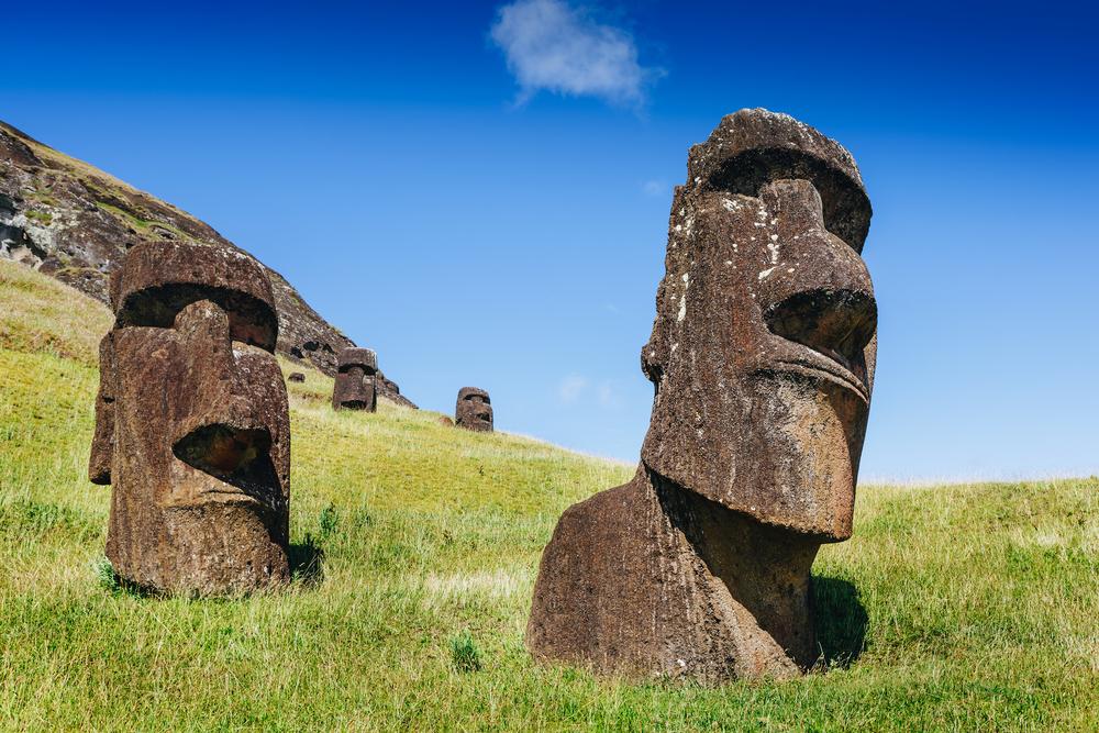 Moai van Paaseiland