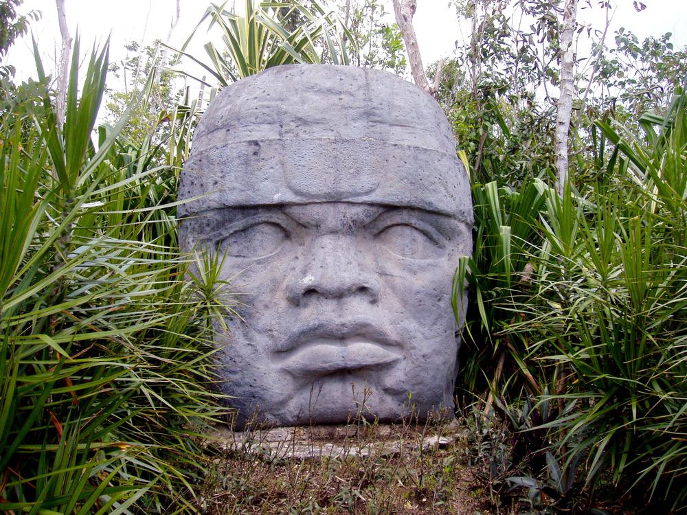 Olmec Giant Heads