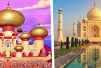 Echte locaties uit Disney-tekenfilms