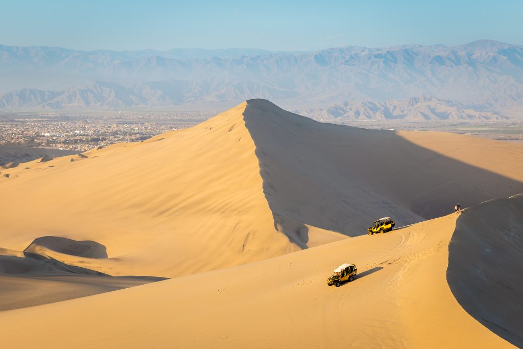 Woestijnoase Huacachina