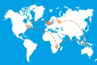 De ultieme wereldreis met KLM