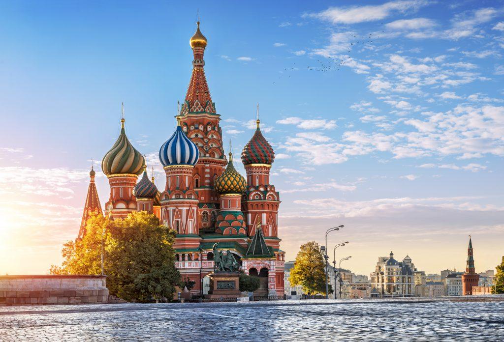 De Basiliuskathedraal van Moskou
