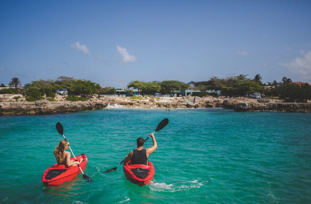 kanoën op Aruba