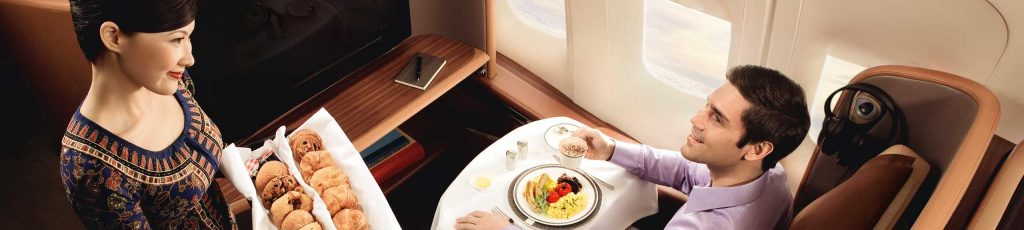Food trip with Singapore Airlines