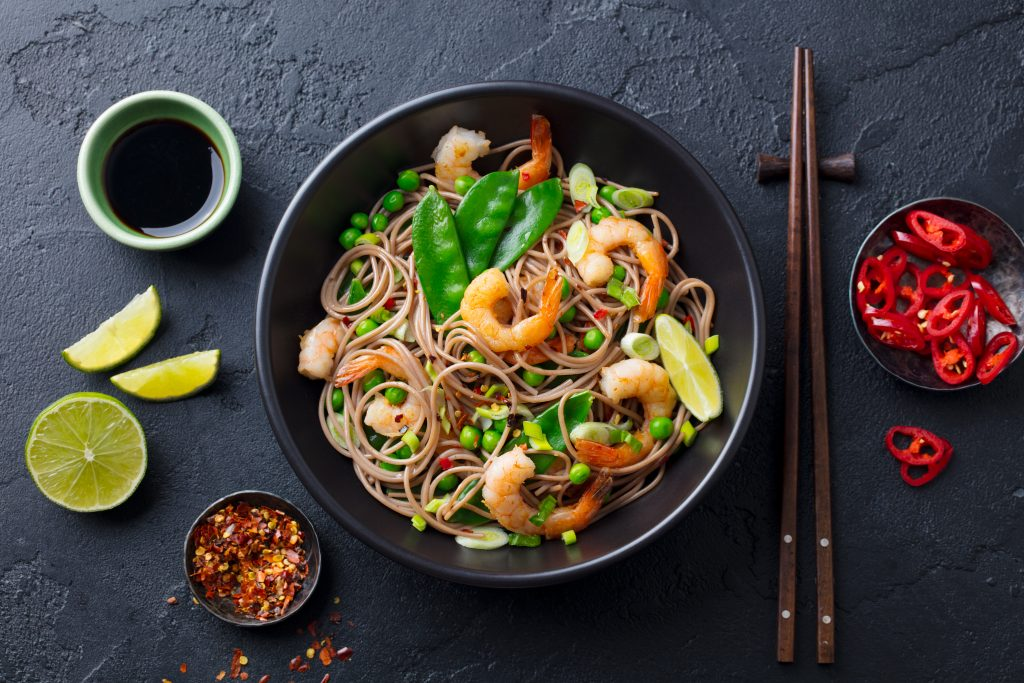 Delicious Singapore food dish